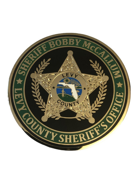 LEVY COUNTY FL SHERIFF COIN