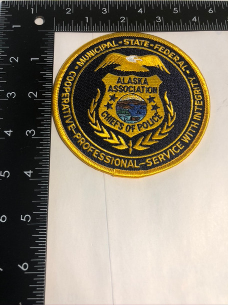 ALASKA CHIEFS OF POLICE ASSN. PATCH