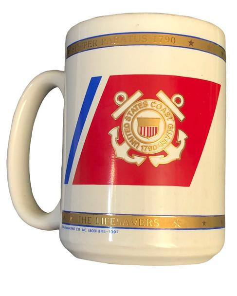 U.S. COAST GUARD COFFEE MUG USA MADE