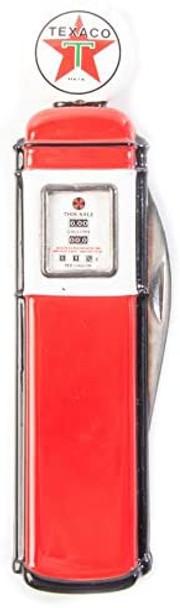 Franklin Mint Texaco Gas Pump Pocket Knife