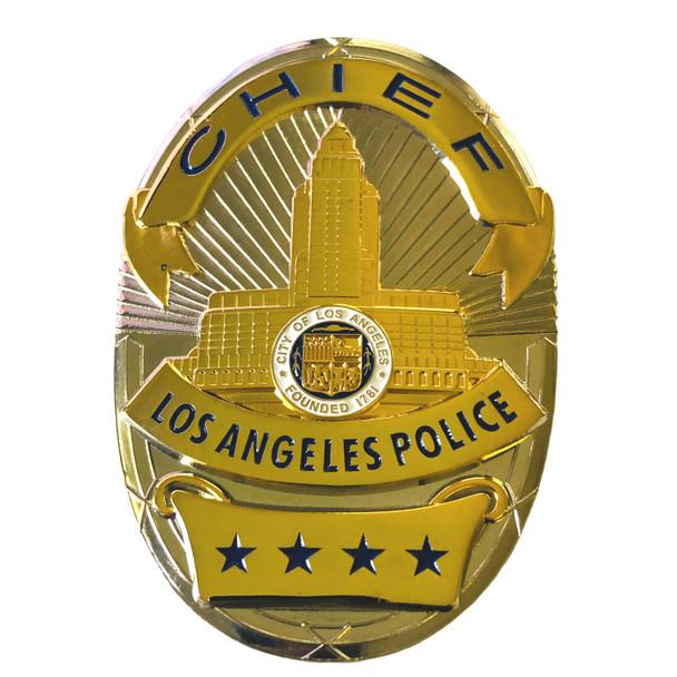 LAPD CHIEF BADGE