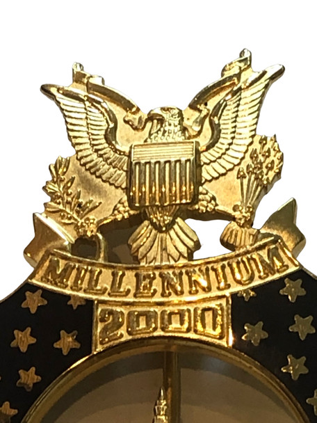 US CAPITOL POLICE MILLENNIUM BADGE  WHITE HOUSE