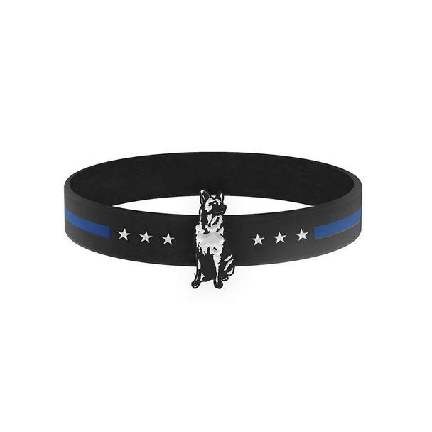 THIN BLUE LINE K9 DOG BRACELET