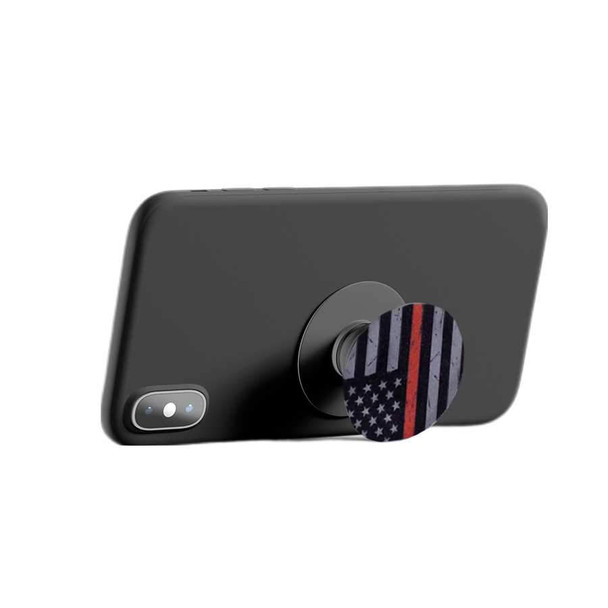 SUBDUED PHONE HOLDER - THIN RED LINE FLAG