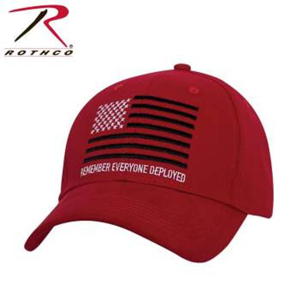 R.E.D. (Remember Everyone Deployed) Low Profile Cap