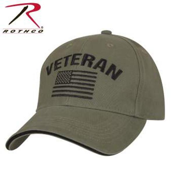 Veteran Low Profile Cap OD Green