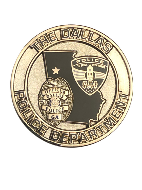 DALLAS POLICE GA COIN