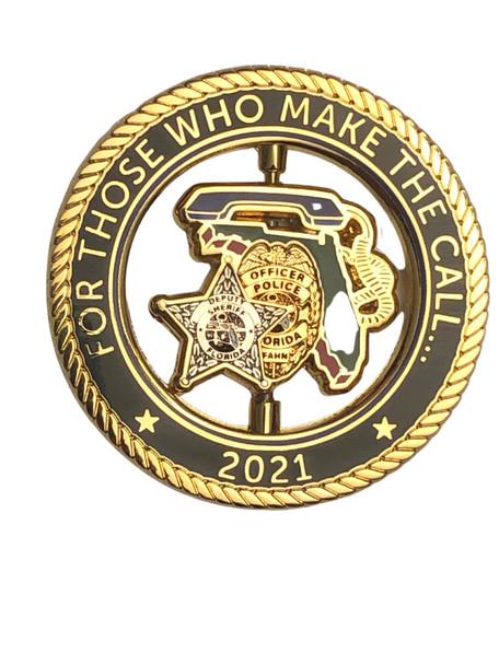 FL ASSOC. OF HOSTAGE NEGOTIATORS SPINNER COIN