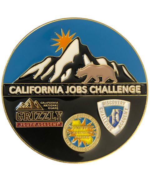 CALIFONIA JOBS CHALLENGE COIN