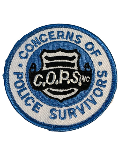 CONCERNS OF POLICE SURVIVORS COPS  PATCH FREE SHIPPING!