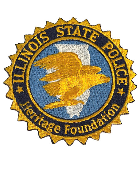 ILLINOIS STATE POLICE HERITAGE FOUNDATION IL PATCH FREE SHIP