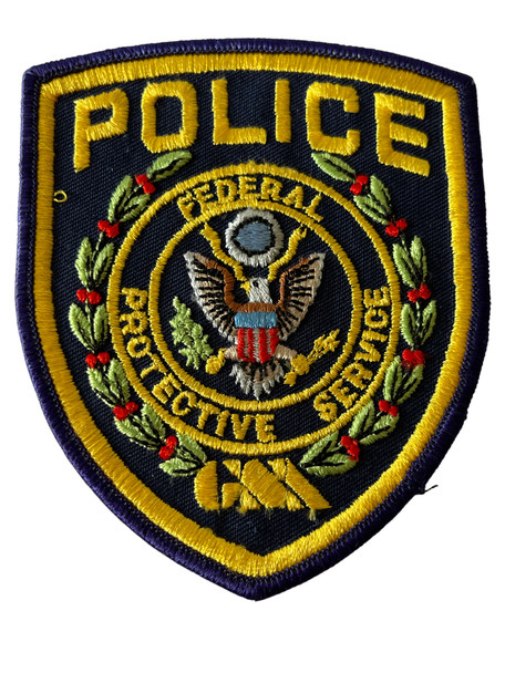 FEDERAL PROTECTIVE SERVICE GSA PATCH