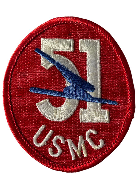 USMC 51 RARE PATCH FREE SHIPPING!