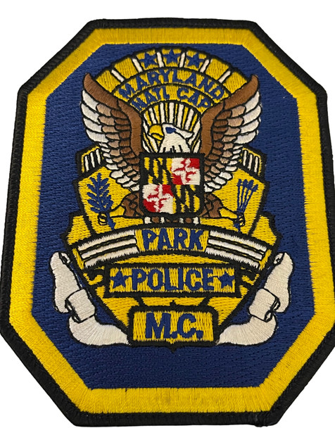 MARYLAND NATL. CAPITAL PARK POLICE MC PATCH