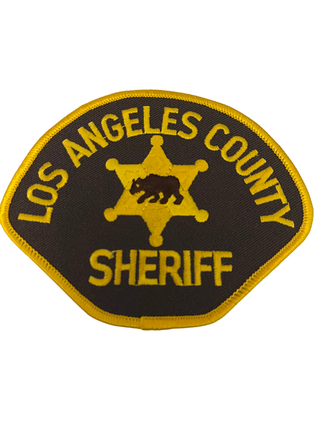 LOS ANGELES COUNTY CA SHERIFF PATCH
