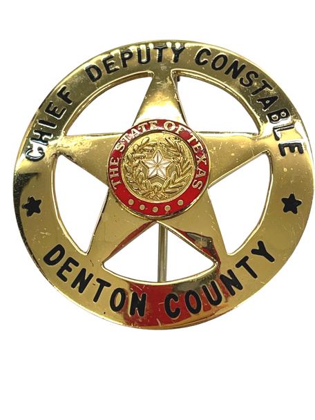 DENTON COUNTY TEXAS CHIEF DEPUTY CONSTABLE