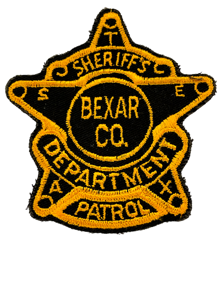 BEXAR COUNTY SHERIFF TX PATROL PATCH