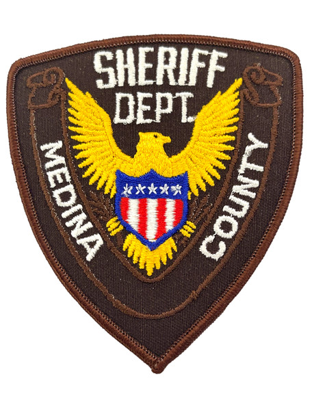 MEDINA COUNTY SHERIFF TX PATCH