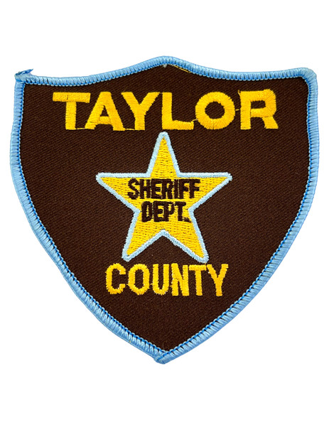 TAYLOR COUNTY SHERIFF TX PATCH