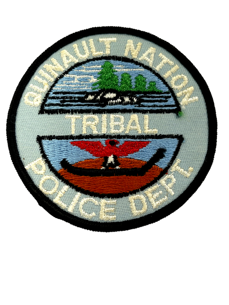 QUINAULT NATION TRIBAL POLICE PATCH