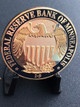 FEDERAL RESERVE POLICE NINTH CHALLENGE COIN RARE