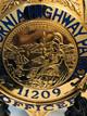 CALIFORNIA HIGHWAY PATROL OFFICER STAR VERY RARE!