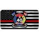 Custom United States License Plate