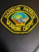 CALIFORNIA,LONG BEACH HARBOR PATROL MARINE DEPARTMENT 1 PATCH