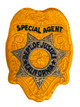 CALIFORNIA DOJ BADGE PATCH