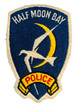 HALF MOON POLICE CA PATCH
