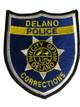 DELANO POLICE CORRECTIONS CA PATCH BLUE