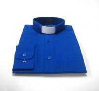 Royal Blue Clergy Shirt
