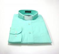 Aqua Clergy Shirt