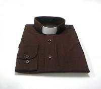 Chocolate Clergy Shirt