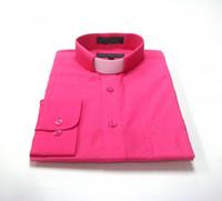Fuschia Clergy Shirt