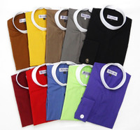 (4) BANDED COLLAR CLERGY SHIRTS FOR $119.99 - 35 Colors Available