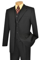 Single Breasted 3-Buttons with Vest by Vinci V-3PP