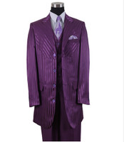 3-Piece Tone-On-Tone High Fashion Suit - AVAILABLE IN 6 COLORS
