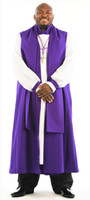 0001. Bishop Vestment - 8 Pieces Included