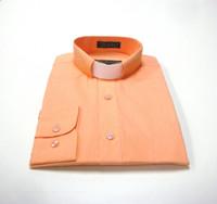 Tab Collar Affordable Clergy Shirt in Peach
