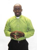 001. QuickShip: Tab Collar Clergy Shirt in Black