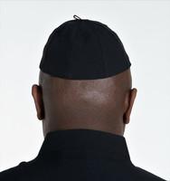 Zucchetto Cap in Black