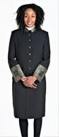 Sarah 2-Piece Jacket & Skirt Set For Ladies In Black & Gold