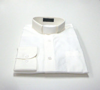 Tab Collar Affordable Clergy Shirt in Ivory