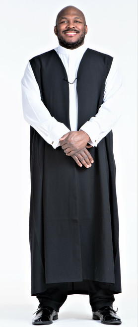 Men's Traditional Chimere In Black