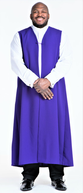 Men's Traditional Chimere In Purple