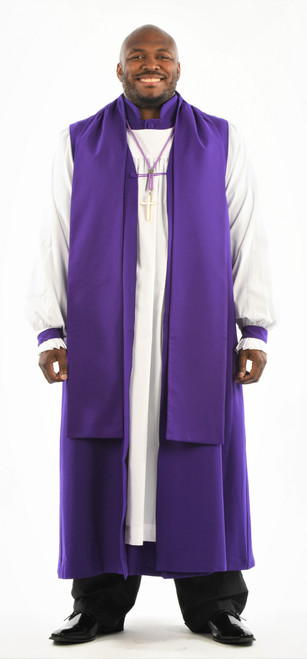 0001. Bishop Vestment - 8 Pieces Included