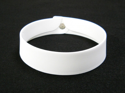 Clerical Collar #2 With Stud Set - 1 1/4 inches