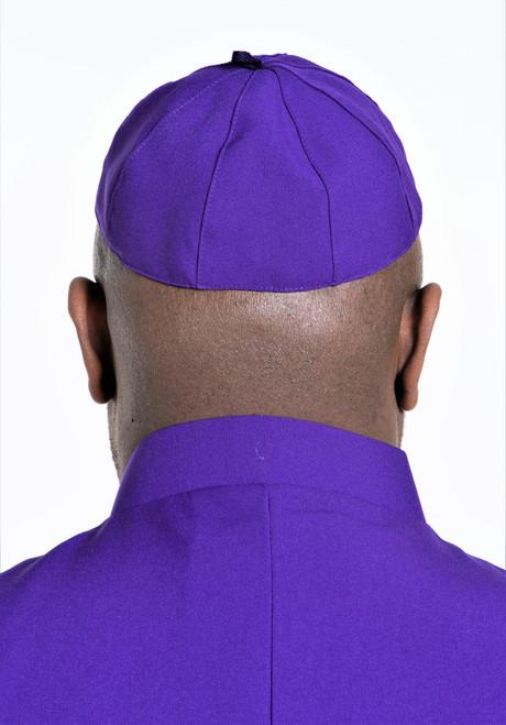 Zucchetto Cap in Purple