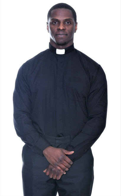 Basic Tab Collar Clergy Shirt: 35 COLORS Available
